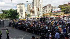 11 febbraio la pnb impedisce la marcia degli addetti ai lavori della stampa