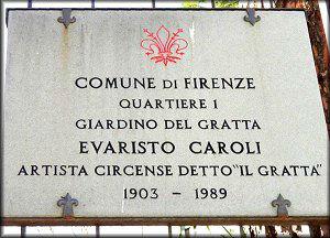 targa Gratta Firenze