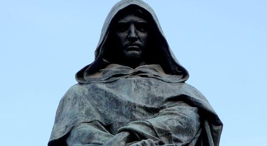 17 FEBBRAIO 1600, IL ROGO DI GIORDANO BRUNO. QUANDO A BRUCIARE VIVI I DISSIDENTI ERA LA CHIESA CATTOLICA APOSTOLICA ROMANA