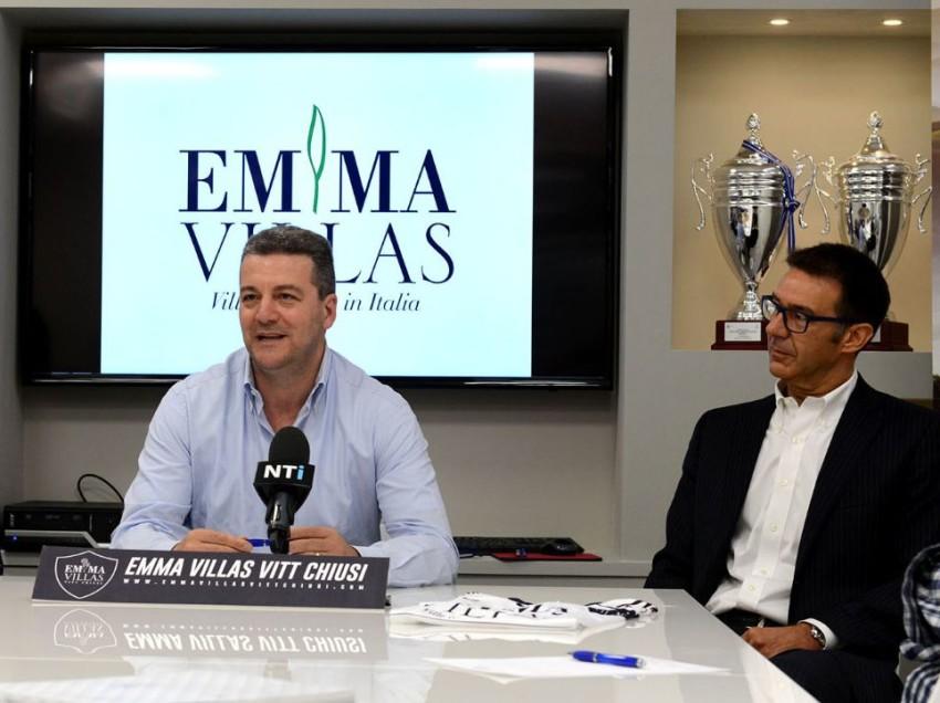 EMMA VILLAS, OBIETTIVO SUPERLEGA IN DUE ANNI! INTERVISTA AL PRESIDENTE BISOGNO E AL DG PISTOLESI
