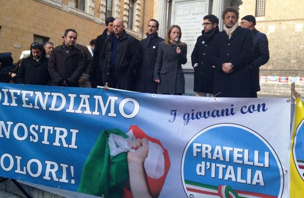 "FRATELLI D'ITALIA: ""NOI ASSENTI AL 25 APRILE. CERTO… E LE FOIBE?"""