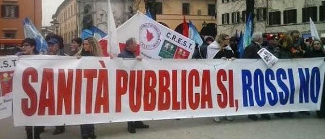 DOPO I 5 STELLE ANCHE 'POSSIAMO' SI MOBILITA PER IL REFERENDUM CONTRO LA LEGGE SANITARIA REGIONALE TOSCANA