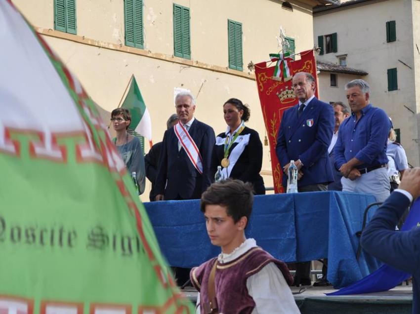 CETONA, FESTA IN PIAZZA PER LA CAMPIONESSA OLIMPICA DIANA BACOSI