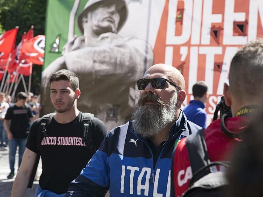 FESTA DI CASA POUND A CHIANCIANO: CLIMA TRANQUILLO. 5 SEDI DEI NEOFASCISTI IMBRATTATE IN TOSCANA