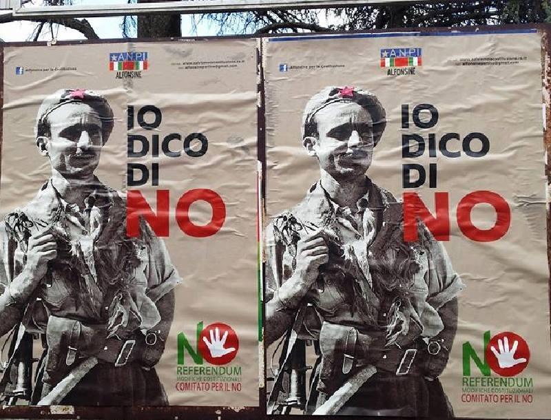 CHIUSI: STACCATI I MANIFESTI DEL NO. IL COMITATO SPORGE DENUNCIA