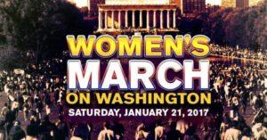 La Marcia delle Donne su Washington contro razzismo, sessismo e xenofobia