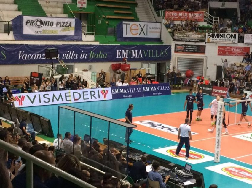 SIENA, LA COMMISIONE DICE SI': EMMA VILLAS VOLLEY E MENS SANA BASKET POSSONO CONTINUARE A GIOCARE AL PALAESTRA