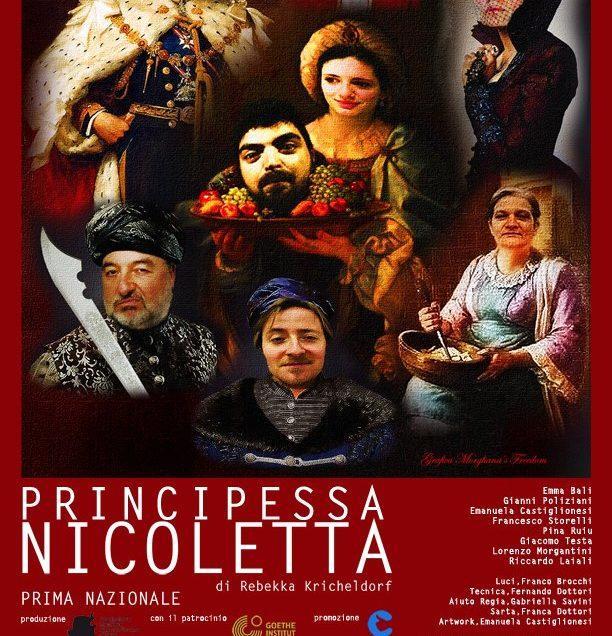 """Teatro: """"Principessa Nicoletta"""", una fiaba per adulti al Poliziano di Montepulciano"""