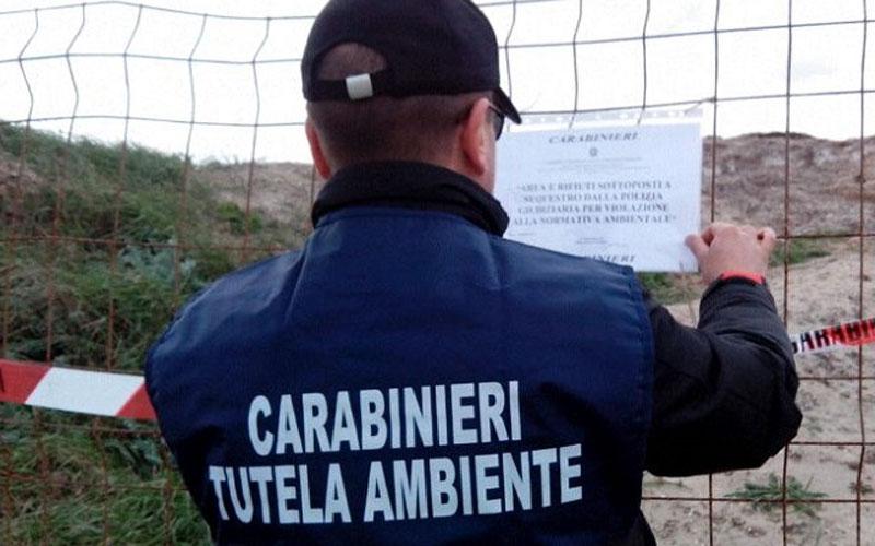 Castiglione del Lago: 1.600 tonnellate di rifiuti speciali smaltiti illegalmente. Otto persone denunciate per reati ambientali, truffa e frode in pubblica fornitura