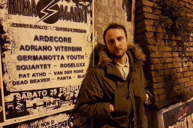 Chiusi, sabato 4 marzo al bar Golosia: poesia in forma di rock con Giulio Pantalei