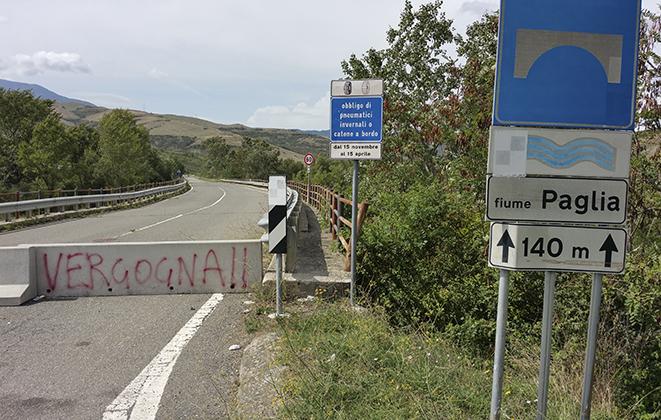 Un ponte Bailey sul Paglia: soluzione provvisoria per riaprire la Cassia a Radicofani