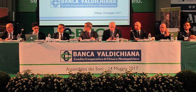 BANCA VALDICHIANA: SILURI SUL CDA PER LA PERDITA DI 18 MILIONI DI EURO. MA LA NAVE REGGE E LA COMPONENTE CHIUSINA SI  COMPATTA