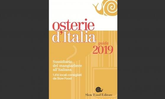 CHIUSI, LUNEDI 11 MARZO LA PRESENTAZIONE DELLA GUIDA ALLE OSTERIE D'ITALIA DI SLOW FOOD 2019