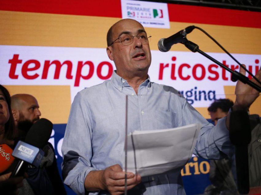 ZINGARETTI E LANDINI, ORA PERO' VIETATO SCIVOLARE SUI CONGIUNTIVI!