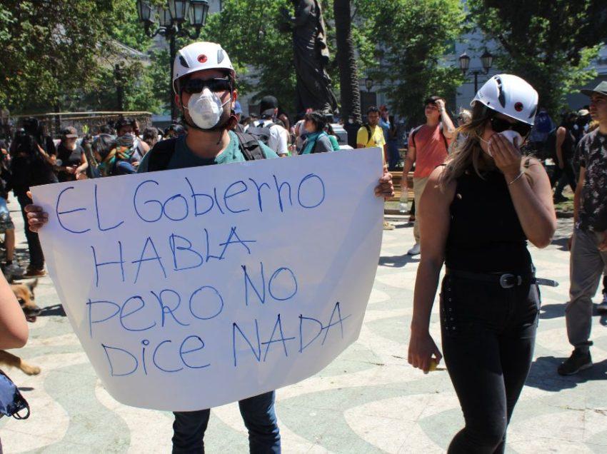 EL PUEBLO UNIDO… REPORTAGE DAL CILE CHE PROTESTA CONTRO LA FEROCIA DEL CAPITALISMO