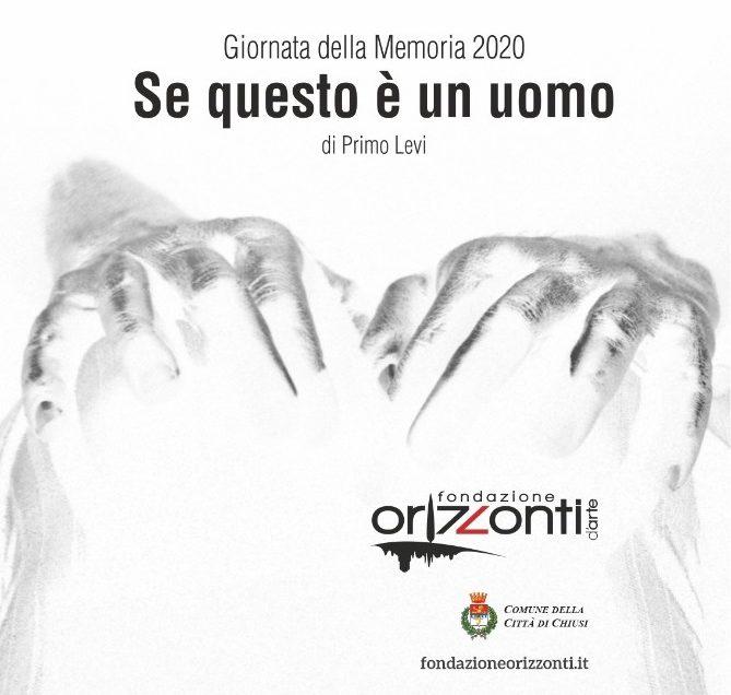 """GIORNATA DELLA MEMORIA: VENERDI' 31 AL MASCAGNI """"SE QUESTO E' UN UOMO"""" CON LIVIA CASTELLANA"""