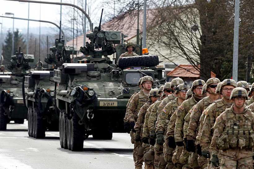 IN UNA EUROPA BLINDATA PER IL CORONAVIRUS SBARCANO 20 MILA SOLDATI USA. UNA MEGA ESERCITAZIONE NATO IN DEROGA ALLE PRESCRIZIONI CHE VALGONO PER TUTTI